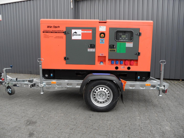 Najnowsze Agregat Diesel 40kW / 50kVA • Agregat prądotwórczy 40 kw | Wa-Tech YD29