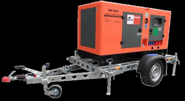 Agregat Diesel 20kW / 25kVA